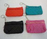 "4.75""x3.25"" Two-Comp Zippered Change Purse [Quilted]"